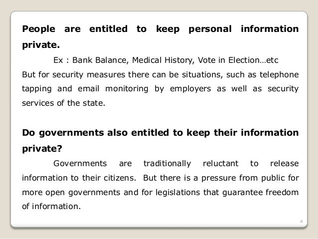protection of privacy and freedom of About us learn more about the information access and protection branch.