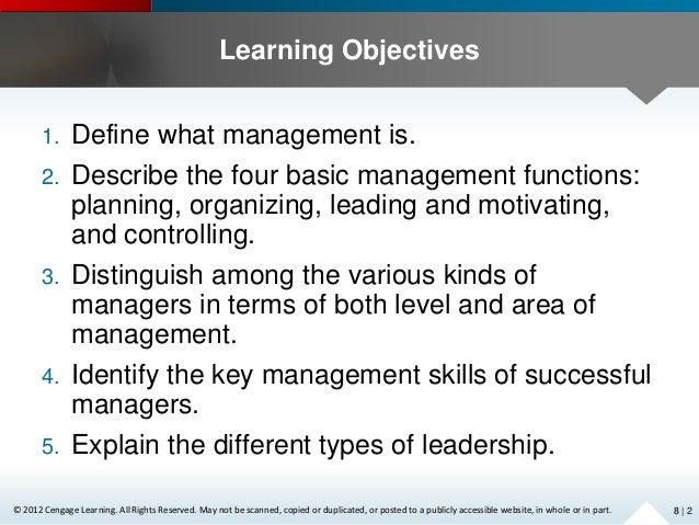 chapter 2 organizing and managing Chapter 2 - librarians in  it also considers what this means for the managers who are tasked with organizing these individuals into  chapter 7 - managing.
