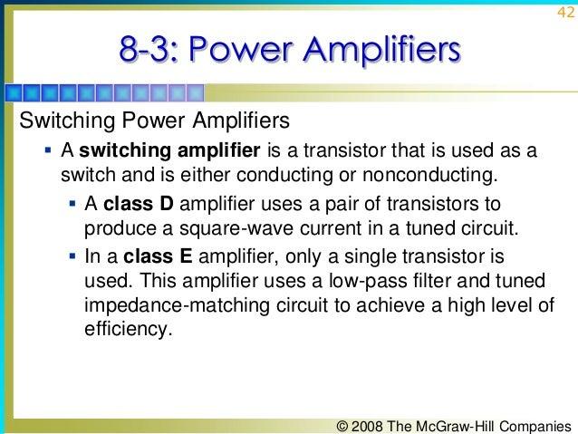 Amplifier Impedance Matching