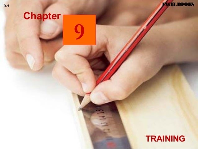 TRAINING EXCELBOOKS9-1 9 Chapter