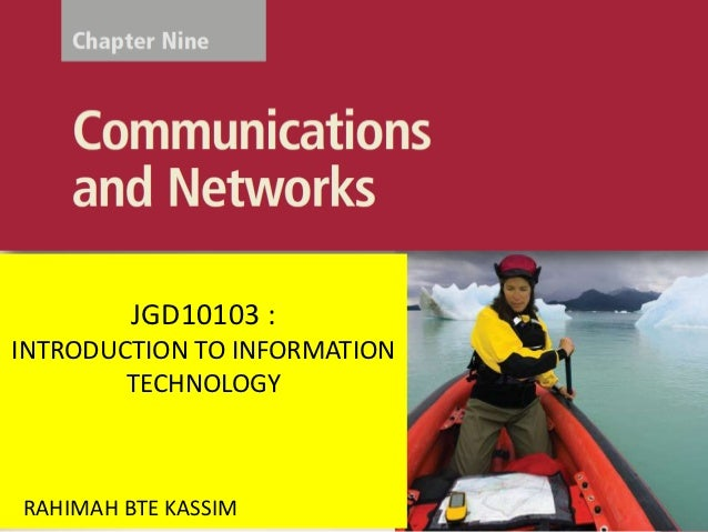JGD10103 :Discovering INFORMATIONINTRODUCTION TO     Computers 2010        TECHNOLOGY      Living in a Digital WorldRAHIMA...