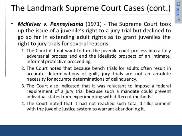 McKeiver v. Pennsylvania, 403 U.S. 528 (1971)