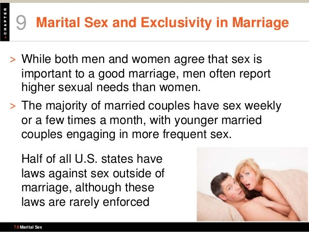 Sex important in a marriage