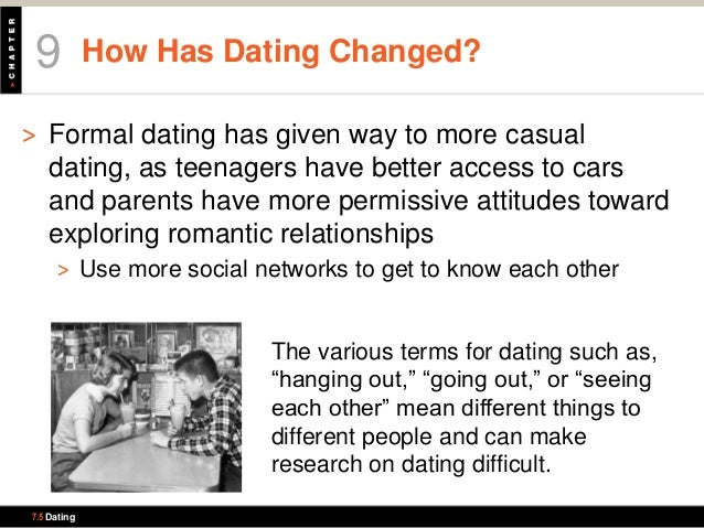 What does it mean by casual dating
