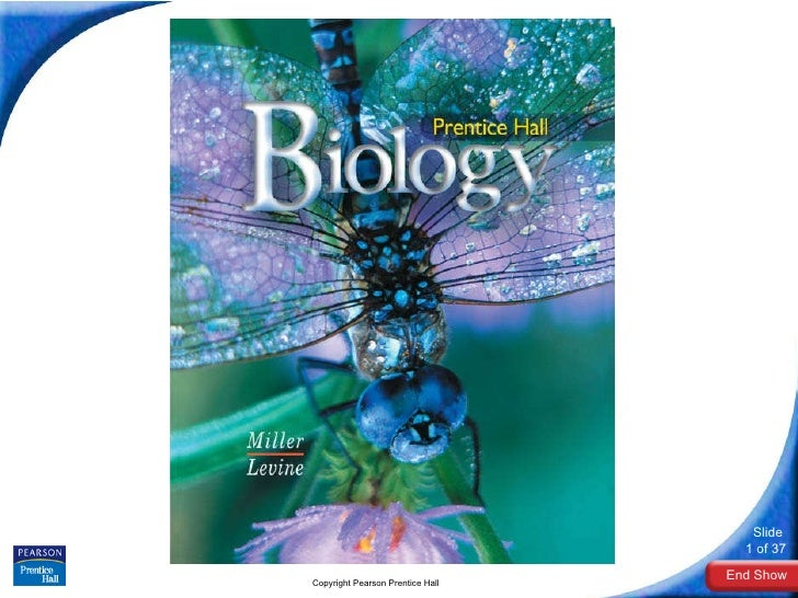 Biology Copyright Pearson Prentice Hall