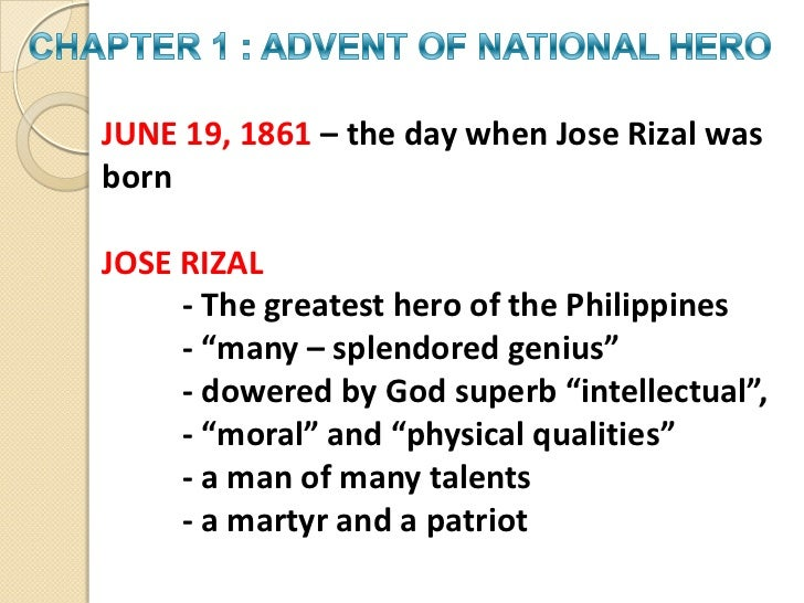 Why was rizal called a many splendored genius