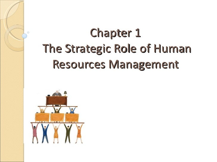 Chapter 1  The Strategic Role of Human Resources Management