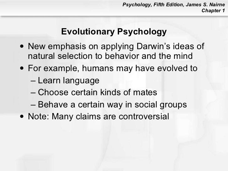 psyc 101 chapater 1 Psychology 101: chapter one description psychology 101: chapter one what are the different approaches to psychology definition biological evolutionary.