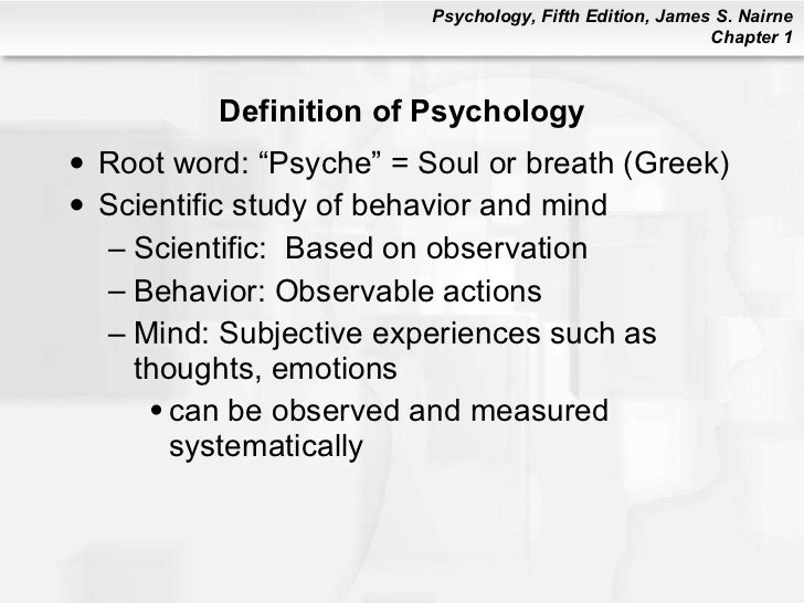 psychology 101 chapter 1 Introduction to psychology from wikibooks, open books for an open world the latest reviewed version was checked on 3 october 2017 there is 1 pending change.
