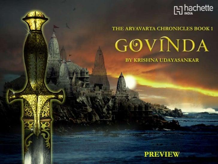 The Aryavarta Chronicles Book 1: Govinda- Preview