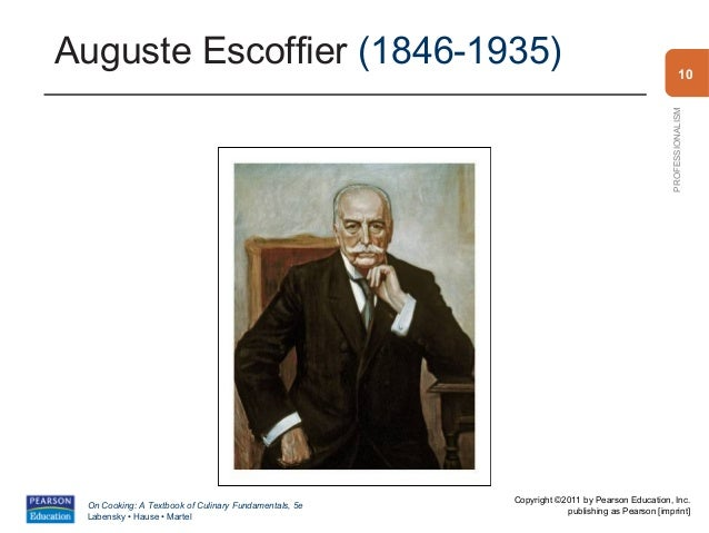 Chapter 1 for Auguste escoffier ma cuisine