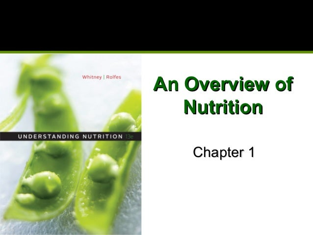 An Overview ofAn Overview ofNutritionNutritionChapter 1Chapter 1