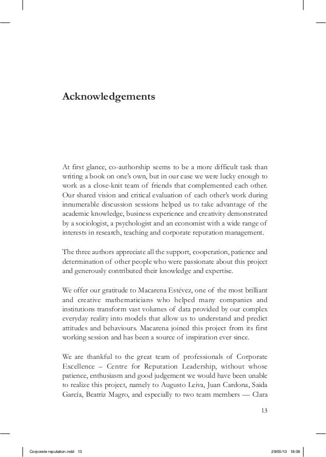 13AcknowledgementsAt first glance, co-authorship seems to be a more difficult task thanwriting a book on one's own, but in...