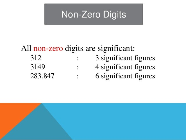 how to write significant figures