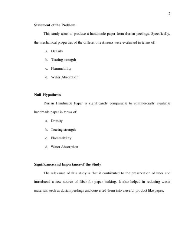 problem analysis paper essay example