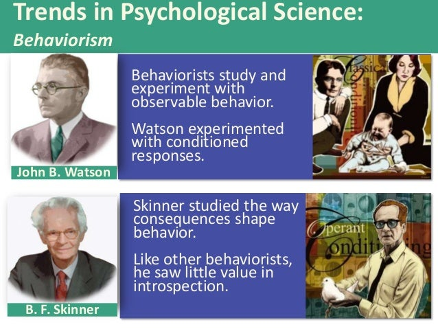 Compare and contrast how skinner and