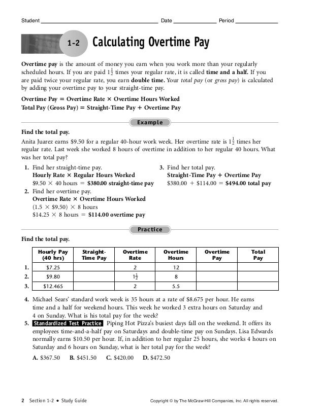 Foundation Skills Chapter 1 Review Test Pret