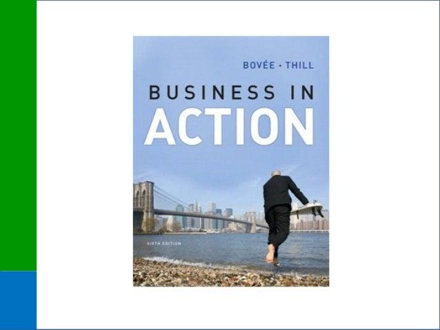 Business inBusiness in Action 6eAction 6e Bovée/ThillBovée/Thill