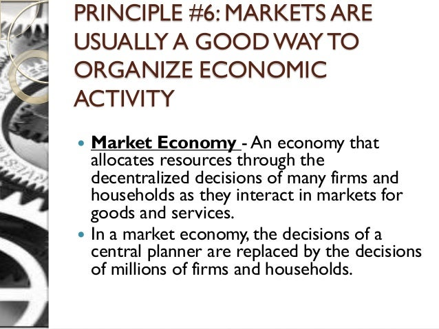 Prices usually allocate resources efficiently because they allocate