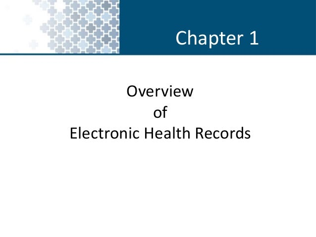 "overview of ehr Overview of the meaningful use final rule posted by chris dimick on aug 25, 2010 ahima meaningful use white paper series paper no 1 on july 28, 2010, the centers for medicare and medicaid services (cms) published the final rule on the ""meaningful use"" ehr incentive program."