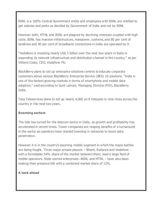 airtel customer satisfaction report I want this project report of customer satisfaction towards airtel in pdf format.