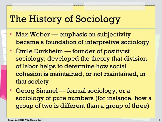 durkheim and the foundation of sociology Foundation of sociological theories ba sociology module iii emile durkheim (1858 – 1917) foundation for the french revolution which created significant.