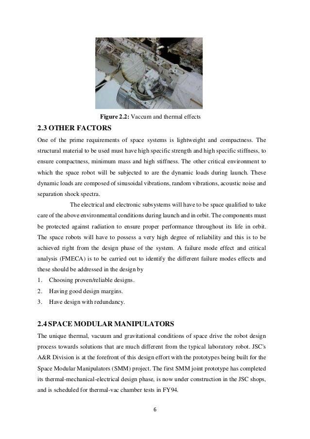 space robotics full pdf