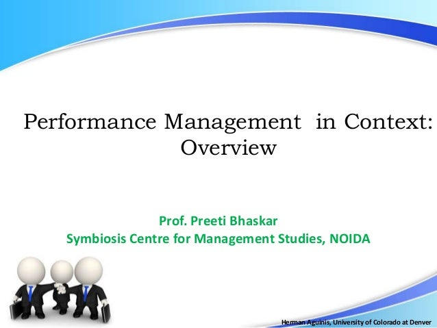 Performance Management and Rewards