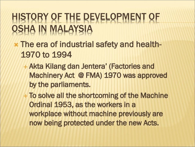 Chapter 1 Occupational Safety And Health