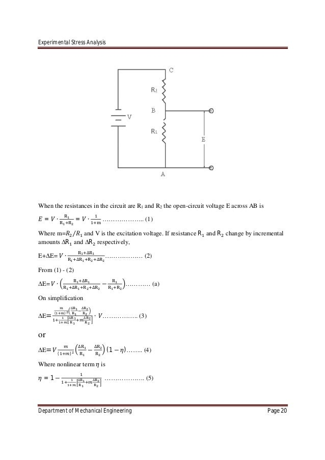 chapter 1 analysis of stress 1 chapter 7 analysis of stresses and strains 71 introduction axial load  = p / a torsional load in circular shaft $ = t/ ip bending moment and shear force in beam.