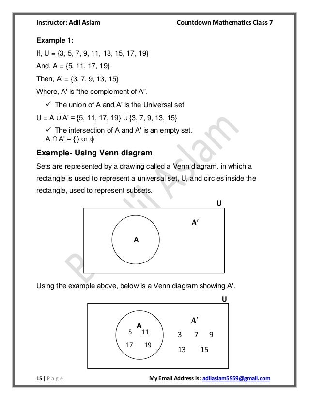 Countdown Class 7th Mathematics Chapter 1 Solution