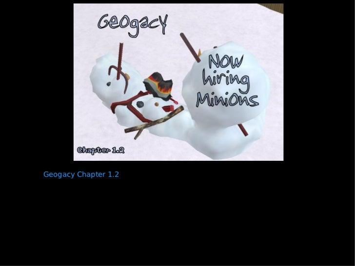 Geogacy Chapter 1.2