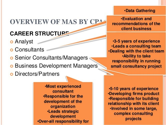 Summary of Management Consultancy