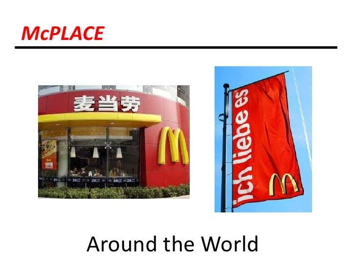 McPLACE<br />Around the World<br />