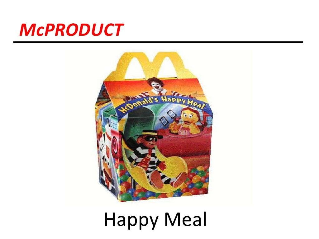 Mcdonald s target market 4 p s