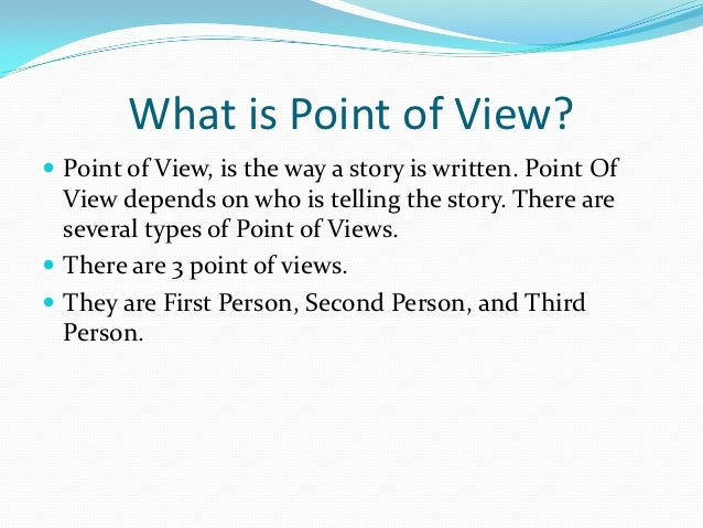 second person point of view in essays