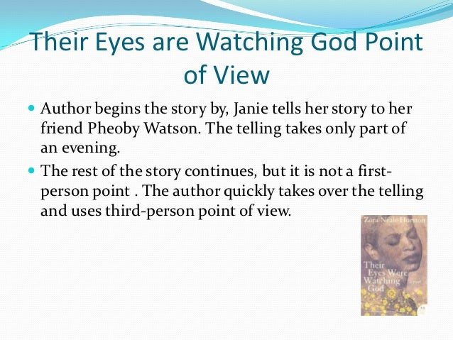 there eyes were watching god rhetorical analysis 357 quotes from their eyes were watching god: 'there are years that ask questions and years that answer.