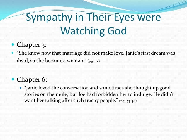 their eyes were watching god essay on marriage Essays and criticism on zora neale hurston's their eyes were watching god - suggested essay topics.