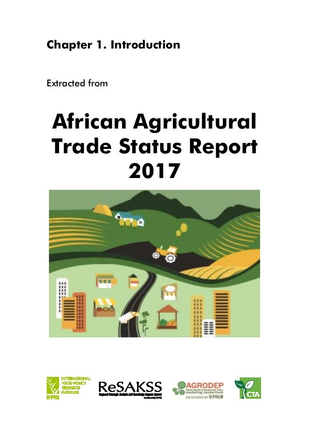 an introduction to the trade in agricultural products An introduction to non-tariff barriers to trade  domestic products in an export-import linkage  common agricultural policy for example, in.