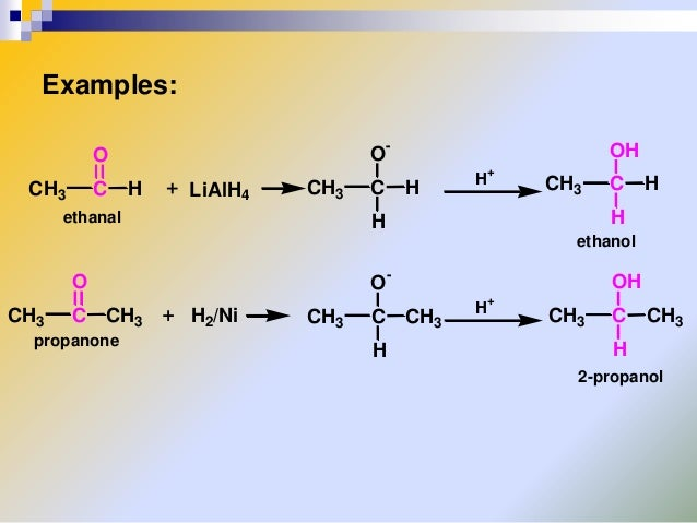 Chemical Properties Of Aldehydes