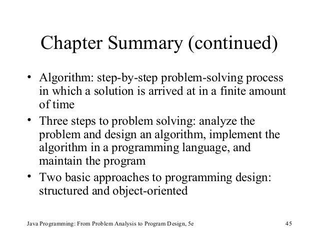 three challenges in planning and designing a solution for a java programming problem Self-check solutions  having square extend rectangle is a poor design  the code could be modified so that it would find and output every solution to the problem.