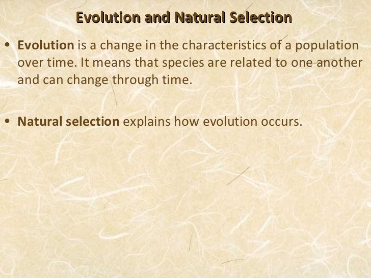What Conditions Must Be Present For Natural Selection