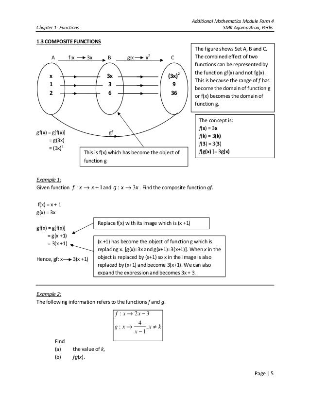 Composite Function Worksheet Fgx Answers Composite Functions