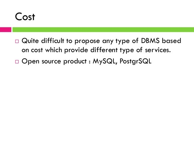 comparison between centralized and distributed dbms I already understand that distributed computing is the breakup of having multiple clients rely on a single source, and having each client utilize other clients for information.
