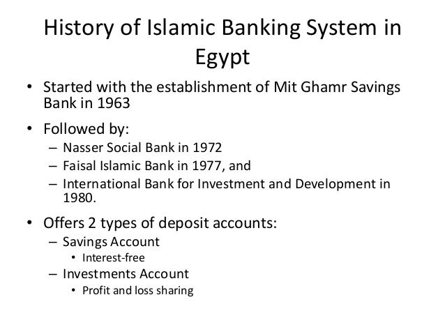 history of islamic banking What is the history of islamic banking for centuries, muslim communities have  practiced a number of credit methods and financial techniques these methods.