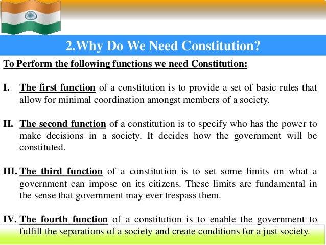 constitution of india essay
