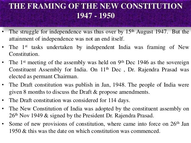 Indian Constitution - Swaminath S