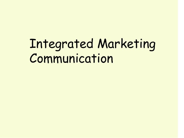 chapter 1marketing communications The online version of innovative marketing communications by guy masterman and emma h wood on sciencedirectcom, the world's leading platform for high quality peer.