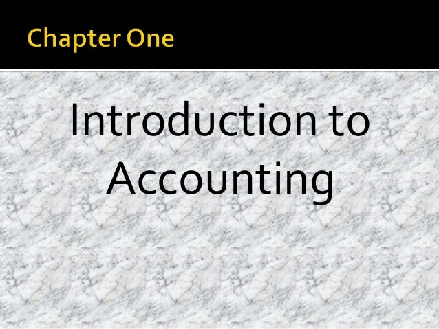 Accountancy/Introduction to Accountancy