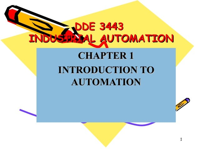 introduction to industrial automation pdf